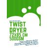 Just Microfiber Twist Dryer 72x85cm 500GSM