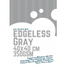 Just Microfiber edgeless Gray 350GSM 40x40cm