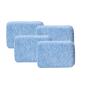 Just Microfiber blaue Mikrofaserapplikator 4er-Pack